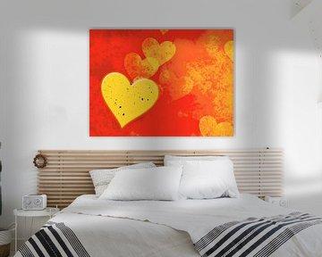 Goldene Herzen von Leopold Brix