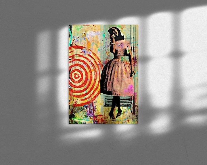 Beispiel: Be a telephone belle von PictureWork - Digital artist