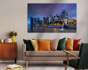 Marina Marina-Bucht von Singapur von Adelheid Smitt
