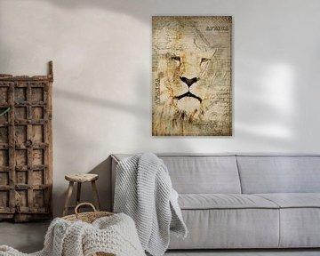 König der Savanne von Andrea Haase
