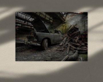 Verlassenes Verfallauto von Wesley Van Vijfeijken