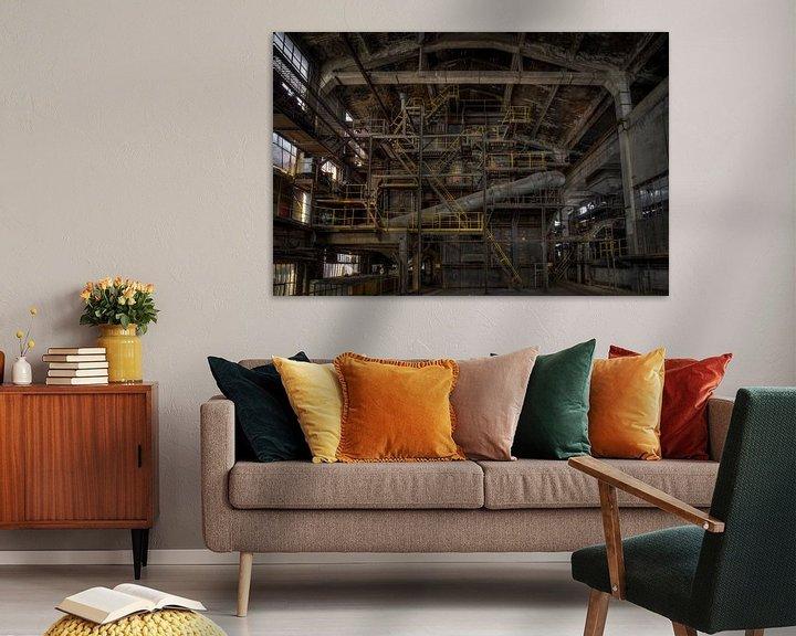 Beispiel: Die industrielle Folie von Wesley Van Vijfeijken