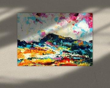 Rainbow Landscape 2 von Maria Kitano