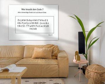 Wer knackt den Code? von Johann Bucher