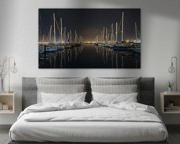 Harbour Mirror van Frans Nijland