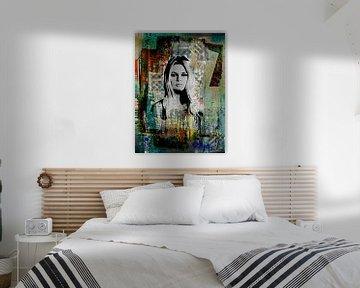 Brigitte Bardot van PictureWork - Digital artist