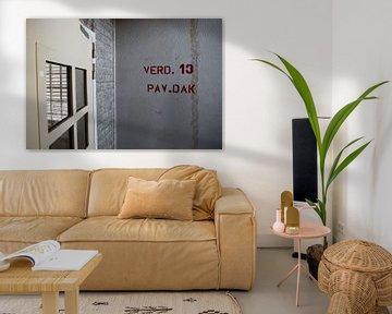 Toegang Paviljoen 7 Bijlmerbajes van Yannick uit den Boogaard