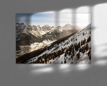 bergen, in de zon alpen van Erik van 't Hof