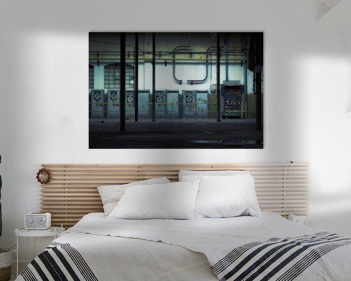 Sfeerimpressie: Abstract industrial van Rigo Meens