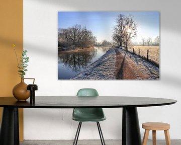 Een kraakheldere winterochtend langs de Kromme Rijn van Arthur Puls Photography