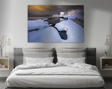 Tugeneset snowy coast van Wojciech Kruczynski
