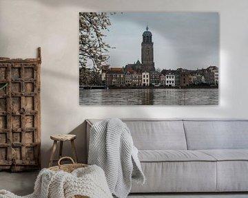 Lebuïnus kirche, Deventer von Ingrid Aanen