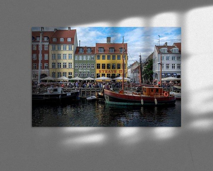 Sfeerimpressie: København | Nyhavn van Laura Maessen