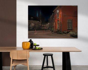 Rode huis Deventer. van Peter Zendman