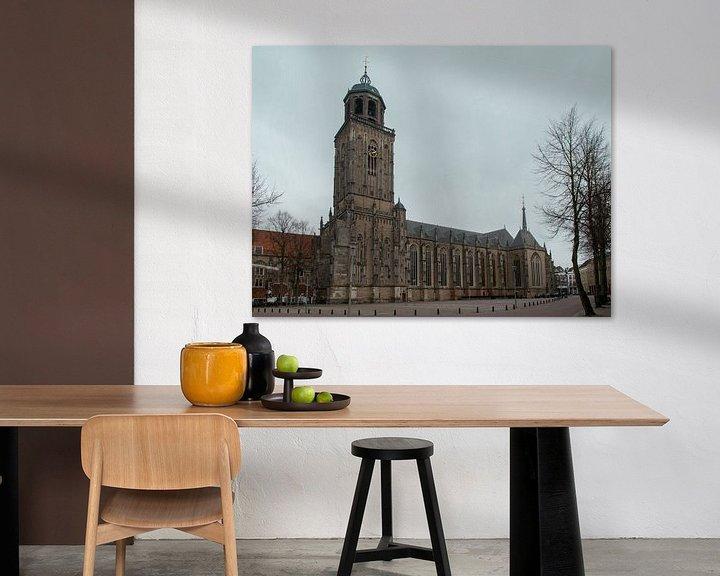 Sfeerimpressie: Grote of Lebuïnuskerk, Deventer van Ingrid Aanen