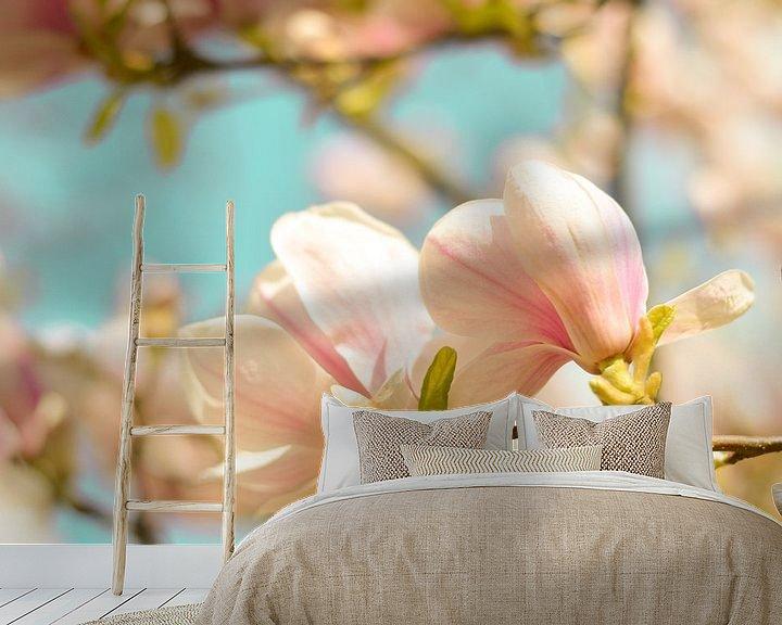 Beispiel fototapete: Magnolie Frühlingsblüten 4 von Joske Kempink