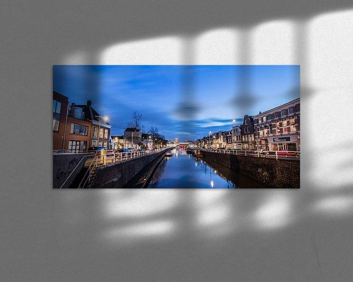 Impression: Avondbeeld van de Vaartsche Rijn en de Ooster- en Westerkade, in Utrecht, NL sur Arthur Puls Photography
