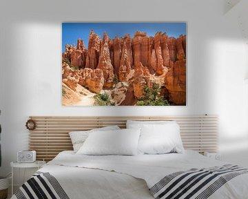 UTAH Bryce Canyon Hoodoos van Melanie Viola