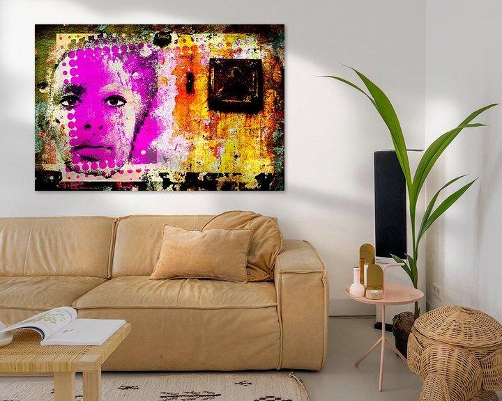 Beispiel: Wall printed face von PictureWork - Digital artist