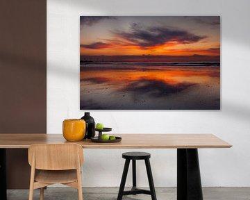 Zonsondergang Hoek van Holland van Marc Vermeulen