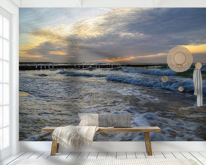 Beispiel fototapete: Abendlicht von zwergl 0611