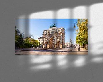 Siegestor in München von Werner Dieterich