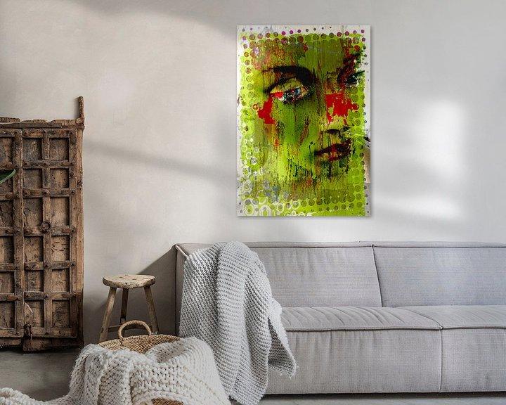 Beispiel: Green lady von PictureWork - Digital artist