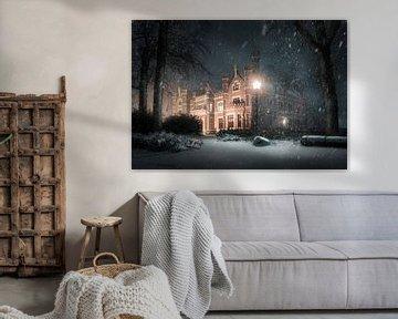 Winterse sferen bij kasteel de Schaffelaar