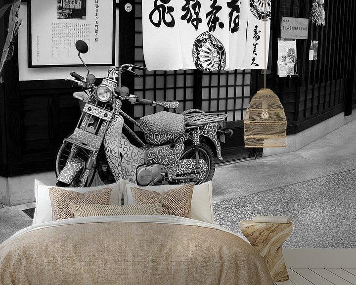 Impression: Moto artistique (Honda) sur Inge Hogenbijl