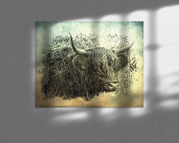 Sfeerimpressie: Schotse hooglander van Carla van Zomeren