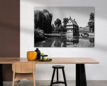 Schönes Fachwerkhaus in Deutschland. von Aukelien Philips