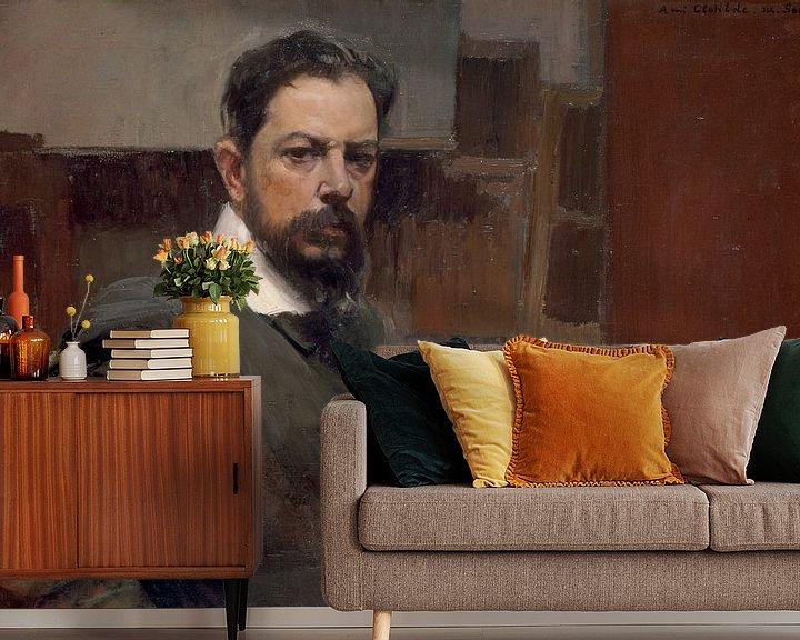 Beispiel fototapete: Selbstporträt, Joaquín Sorolla y Bastida