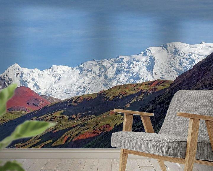 Sfeerimpressie behang: kleurenpracht van rene schuiling