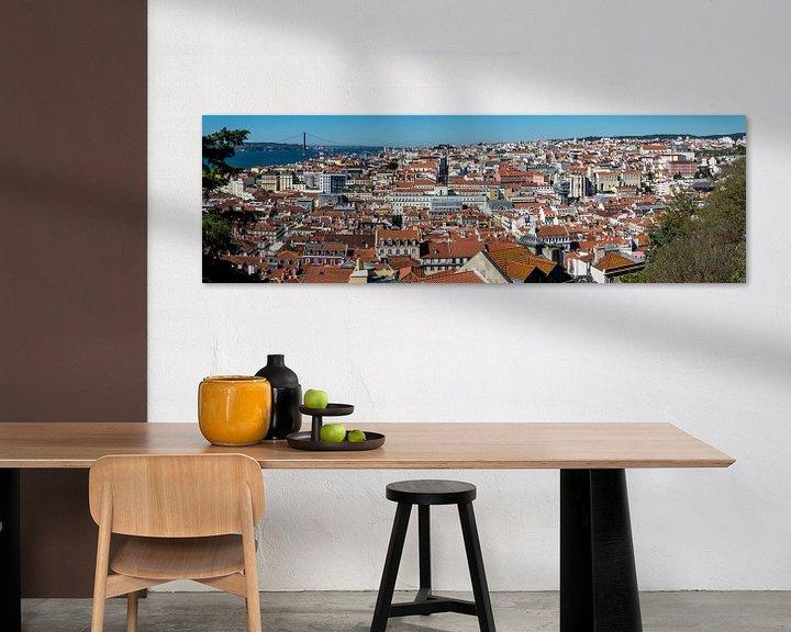 Sfeerimpressie: Panorama Lissabon van Ton de Koning