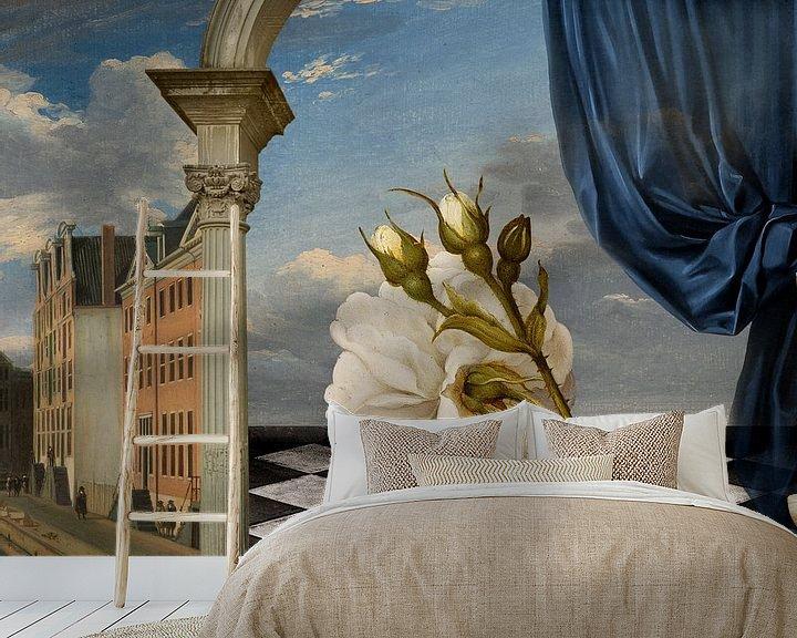 Sfeerimpressie behang: Art Collected van Marja van den Hurk