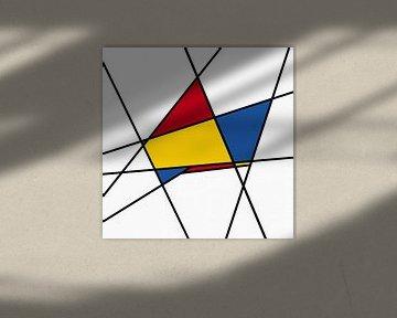Piet Mondriaan abstract