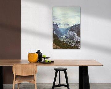 Lauterbrunnen Zwitserland van Patrycja Polechonska
