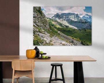 Zomer Alpen Landschap van Patrycja Polechonska