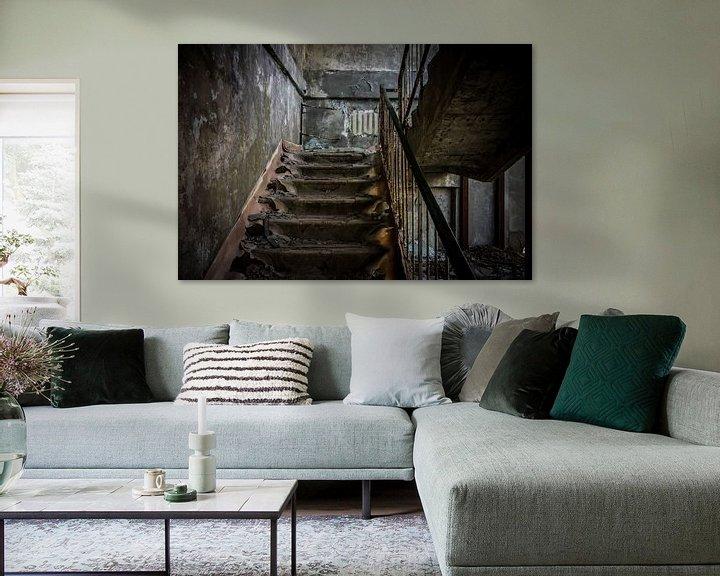 Sfeerimpressie: Let's take the stairs van The Pixel Corner