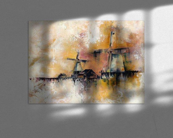 Beispiel: Windmühlen von Maria Kitano