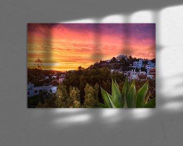 Avondrood Ibiza