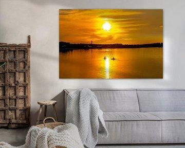 Sonnenuntergang auf Amrum von Alexander Wolff