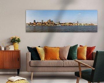 Zonneschijn Hamburg van Werner Reins