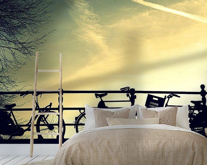Sfeerimpressie behang: Amsterdam van Remy De Milde
