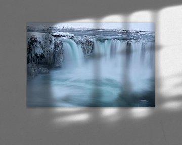 De Godafoss waterval - IJsland van Danny Budts
