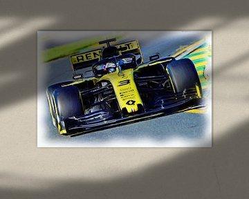 Daniel Ricciardo #3 - Season 2019 von Jean-Louis Glineur alias DeVerviers