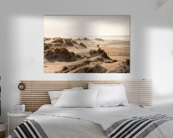 Sfeerimpressie: Duinen en strand van Rømø in Denemarken van Claire Droppert