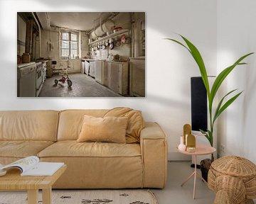 Lost Place  - Abandoned Kitchen van Linda Lu
