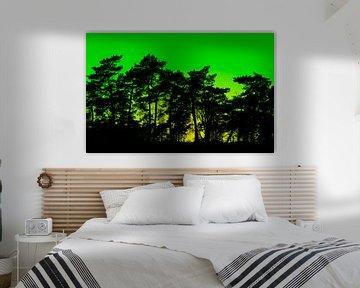 Pop Art Forest von Marcel Kerdijk