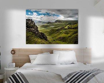 Uitzicht over de Schotse hooglanden van Bjorn Snelders